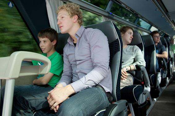 Пассажирские перевозки транспортной компанией во Владимире